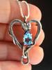 Viper Valentine w/Blue Topaz