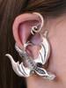 Balerion Dragon Ear Wrap - Silver