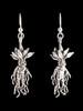 Mandrake Root Earrings