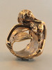 Siren's Song Mermaid Ring - Bronze