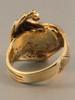 14K gold Maverick wave ring