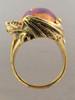 Star Fire Lagoon Mexican Matrix Fire Opal Dragon Ring
