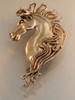 Spirit Horse Ear Wrap in Bronze