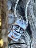 Frankenstein Pendant - Silver