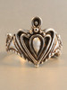 Crowning Heart Ring