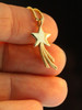 Celestial - Shooting Star Charm - Gold