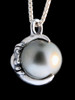 Moon Orb Pendant with South Sea Pearl