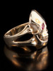 Skull and Crossbone Ring 14k Gold