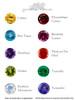 Gemstone Options for 14K Manta Ray Pendant