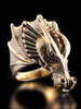 Valor Dragon Ring - 14K Gold