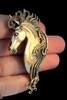 Bronze Spirit Horse Pendant