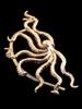 Octopus Ear Wrap in Bronze