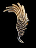 Angel Wing Ear Cuff -Bronze