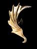 Dragon Wing Ear Cuff -Bronze