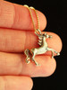 Arabian Nights Horse Charm in 14K Gold