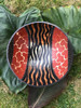 Zimbabwe Bowl - Animal Print Abstract 3