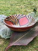 Zimbabwe Bowl - Three Petal and Flowing Animal Stripe Design