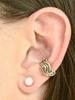 Nouveau Swirl Ear Cuff - 14K Gold