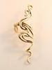 Spiro Ear Cuff - 14K Gold