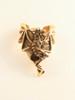 Dragon Ear Chevron Cuff - 14K Gold