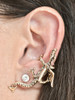 Dragon Ear Climber Cuff - 14K Gold