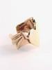 Angel Heart Ear Cuff - 14K Gold