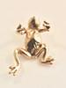 Enchanted Frog Ear Climber Cuff - 14K Gold