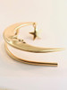 Crescent Moon Ear Wrap - 14K Gold