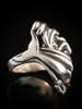 Mermaid Lagoon Ring with Gemstones - Silver