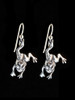 Enchanted Frog Earrings - Silver