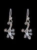 Jungle Jewel Gecko Earrings in Silver