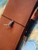 Godzilla Traveler Notebook Charm in Silver