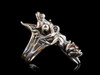 Leap Frog Ring in Silver