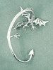 Guardian Dragon Ear Wrap - Silver