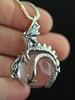 Dragon Orb Pendant - Silver