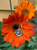Sterling Silver Sun Flower Charm
