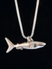 Shark Charm in Silver