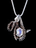 Flytrap Pendant with Moonstone