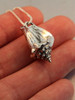 Sea Life - Conch Shell Charm - Silver