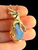 Mystic Opal Dragon Pendant - SOLD