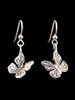 Butterfly Earrings in Silver