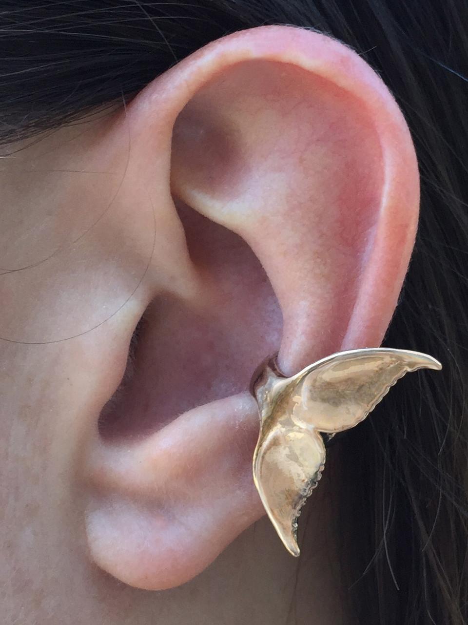 de6a1e27d Whale Tail Ear Cuff - Bronze - Marty Magic Store