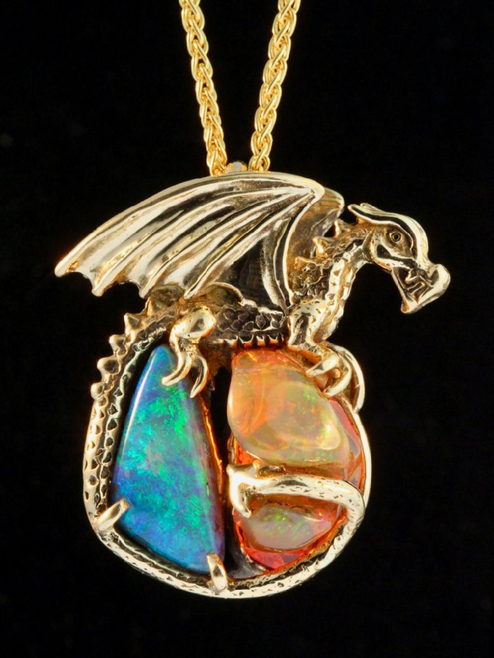 New { Dragon Magic } pendant