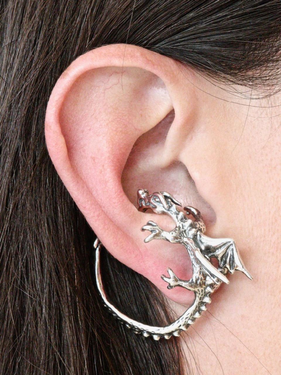 9d5ec0c1b Dragon Ear Whisperer Hoop Jewelry