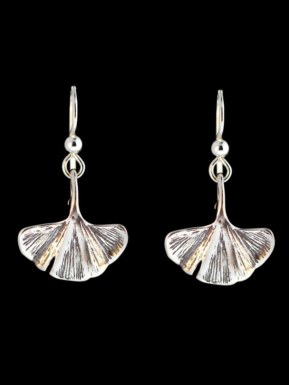5727fd173 Okinawa - Ginkgo Leaf Earrings Jewelry