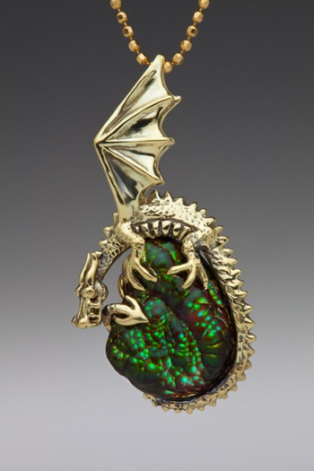 Swamp Dragon Pendant_SOLD