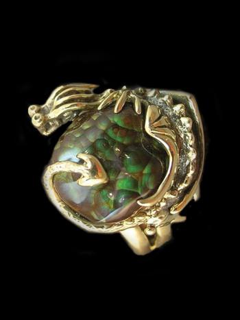 Swamp Dragon Ring - SOLD