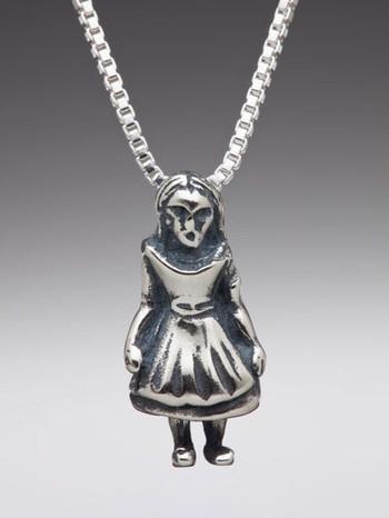 Alice - Alice  in Wonderland Charm - Silver