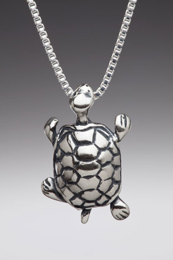 Alice - Mock Turtle Charm - Silver
