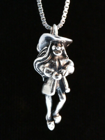 Classic Peter Pan - Captain Hook Charm - Silver